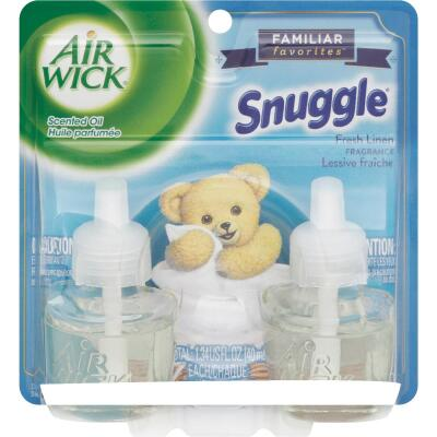 Air Wick Snuggle Fresh Linen Scented Oil Refill (2-Pack)