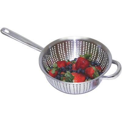 3 Qt. Stainless Steel Long Handled Colander