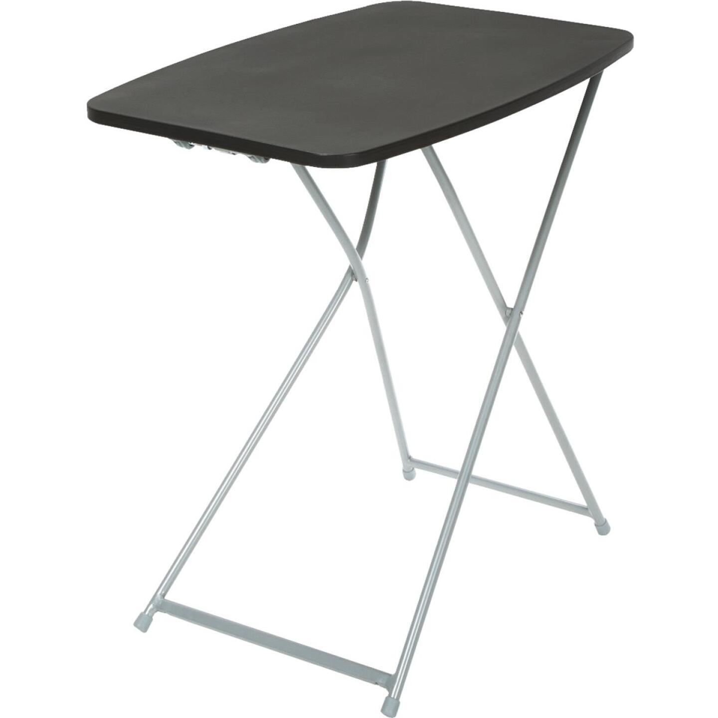 COSCO 26 In. x 18 In. Black Personal Folding Table Image 1