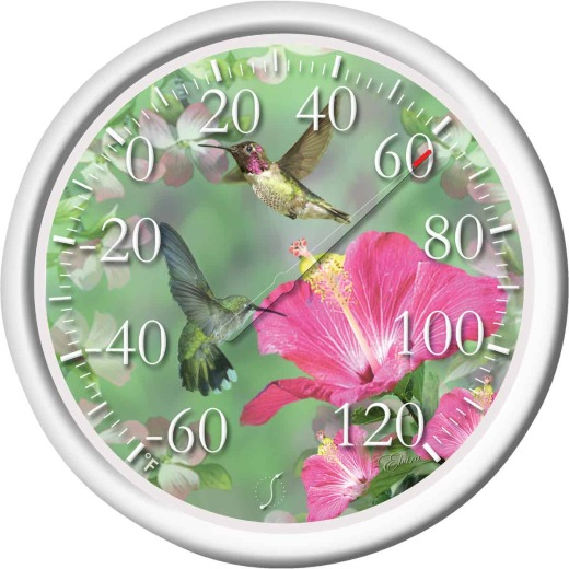 "Taylor 13-1/2"" Fahrenheit -60 To 120 Outdoor Wall Thermometer"