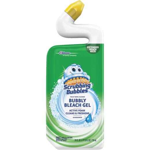 Scrubbing Bubbles 24 Oz. Rainshower Foaming Bleach Gel Toilet Bowl Cleaner