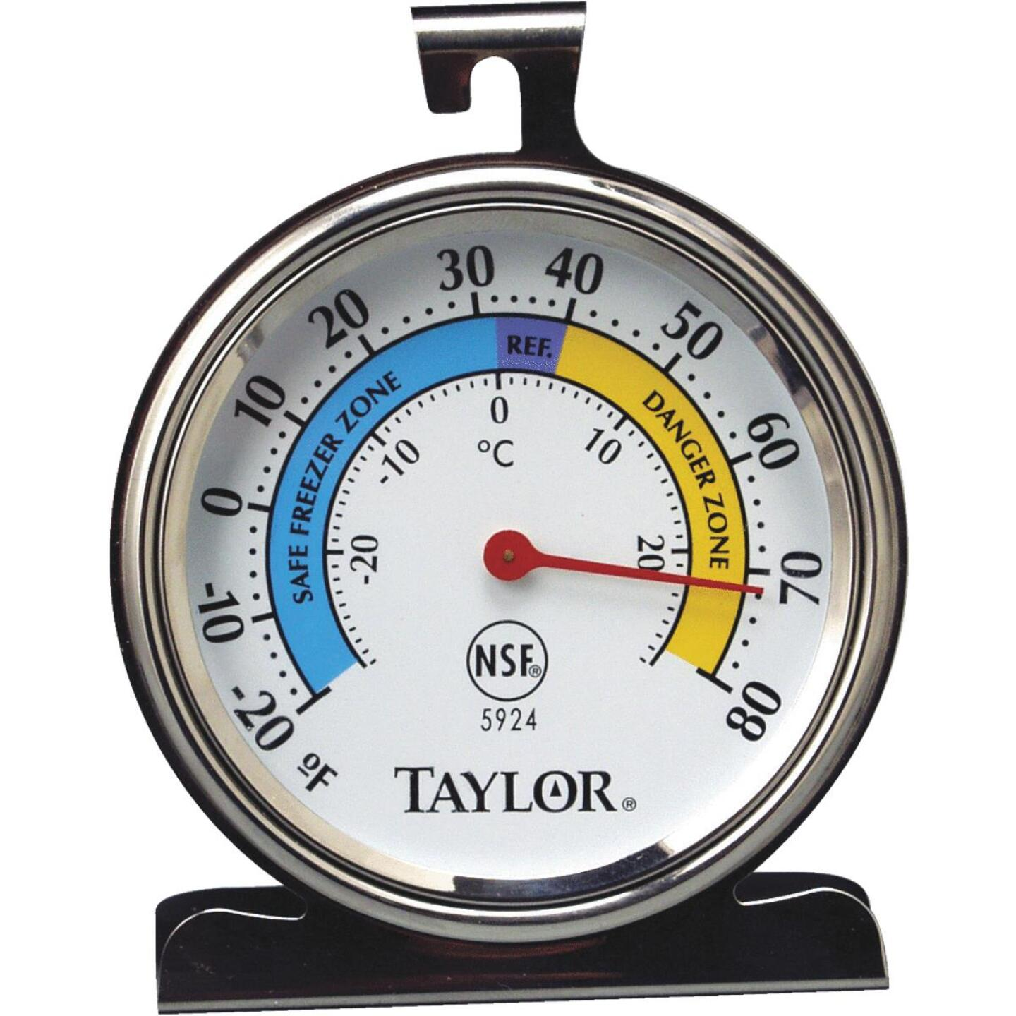 Taylor Classic Freezer Or Refrigerator Kitchen Thermometer Image 1