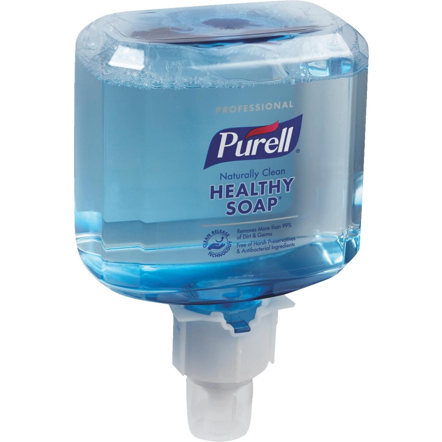 Purell ES4 Professional CRT Healthy Soap Foam 1200 mL Clean Scent Hand Cleaner for Push-Style Dispenser Image 1