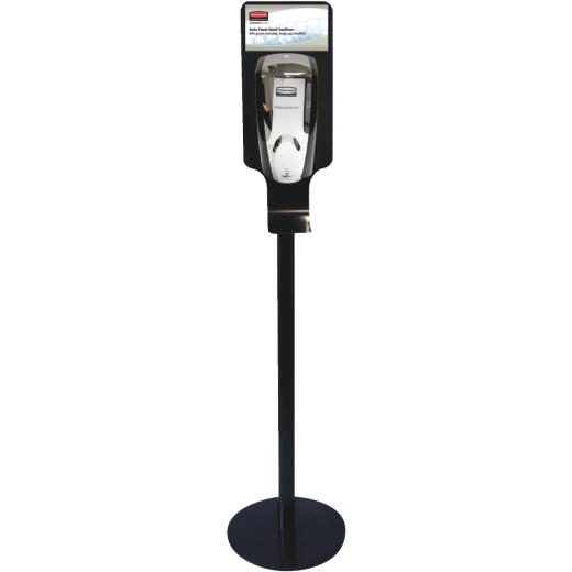 Rubbermaid AutoFoam Black Metal Hand Sanitizer Station - Stand Only