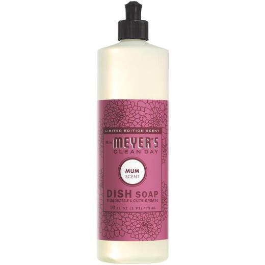 Mrs Meyer's Clean Day 16 Oz. Mum Liquid Dish Soap