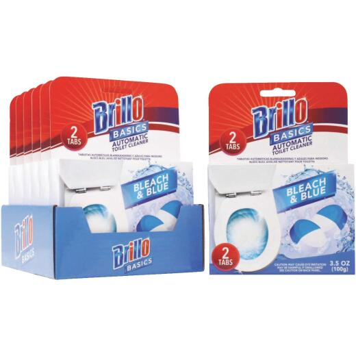 Brillo Basics 3.5 Oz. Tablet Automatic Toilet Bowl Cleaner (2-Pack)