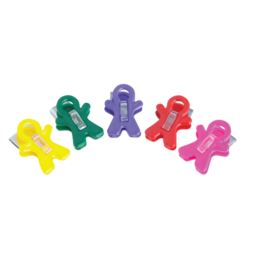 Magnet Man Memo Magnetic Clip Assorted Display