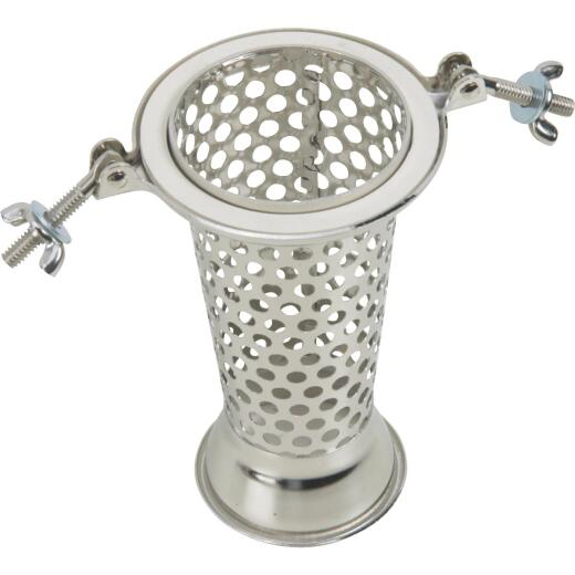 Sauce Master 6 In. x 3.5 In. Vegetable & Fruit Strainer - Salsa Screen