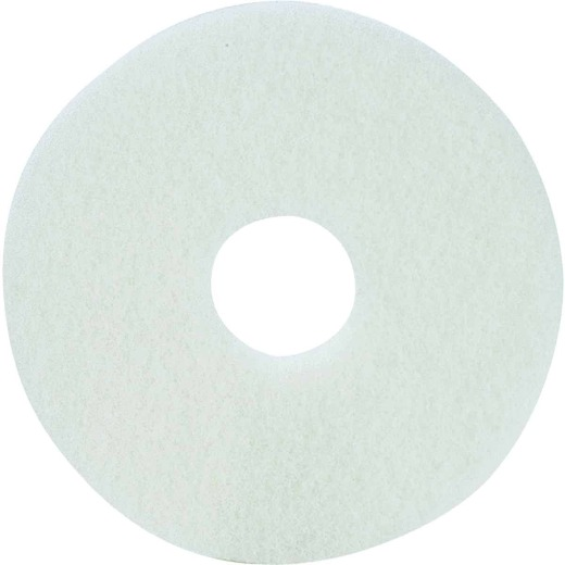 Lundmark 20 In. White 175 to 300 RPM Buffing Pad