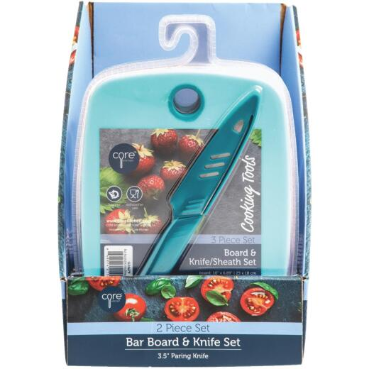 Core Kitchen Poly Bar Board and Knife Set