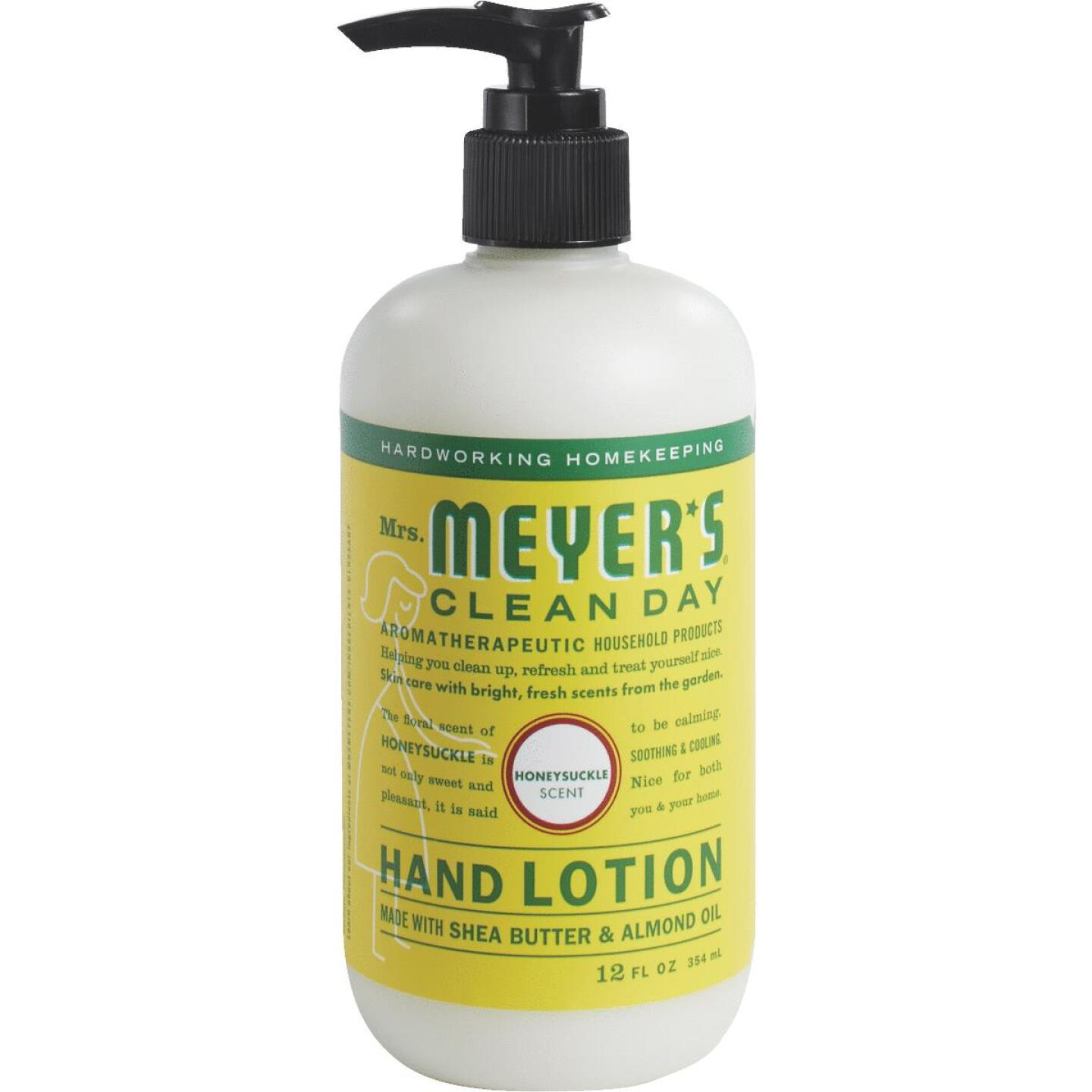 Mrs. Meyer's Clean Day 12 Oz. Honeysuckle Hand Lotion Image 1