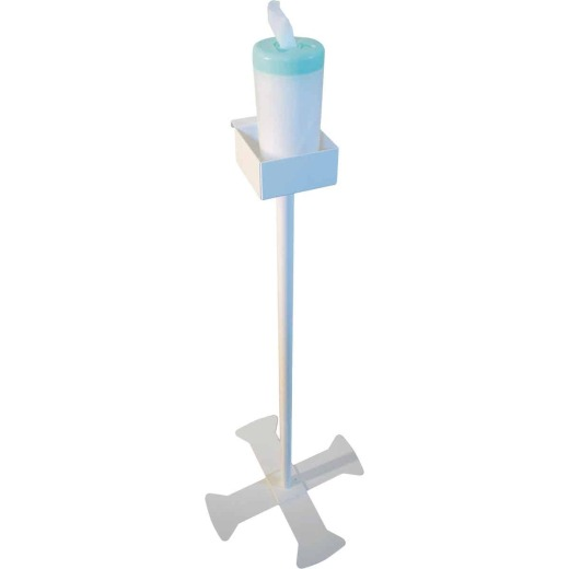 Astoria Commercial-Grade 3 Ft. Steel Disinfecting & Cleaning Wipe Stand
