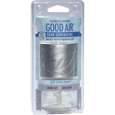 Yankee Candle Good Air Just Plain Clean Starter Kit Plug In Air Freshener