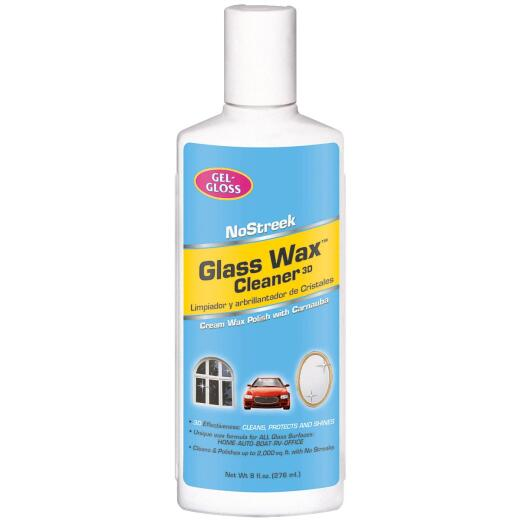 Glass Wax 8 Oz. Glass Cleaner & Polish