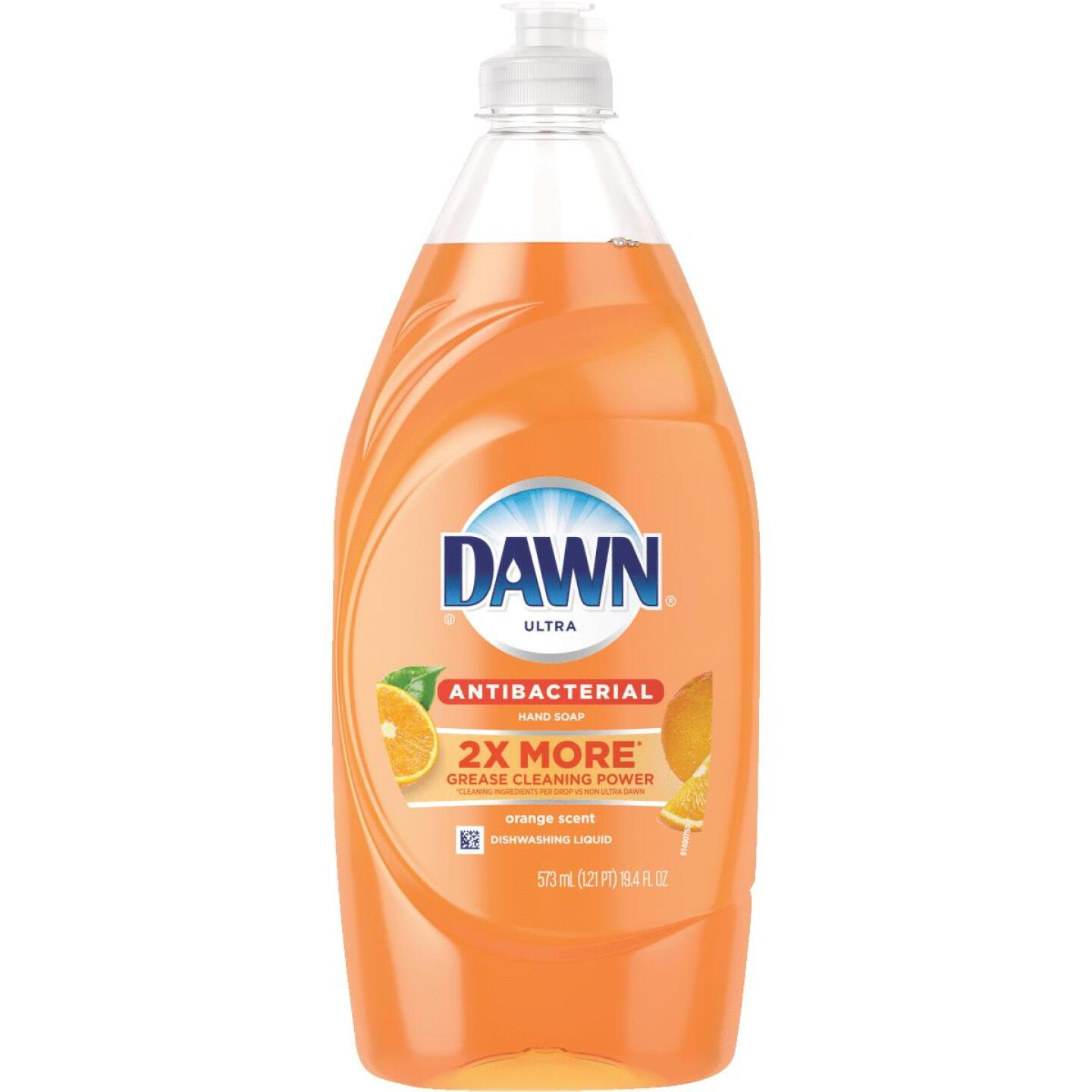 Dawn Ultra 19.4 Oz. Orange Scent Antibacterial Dish Soap Image 1