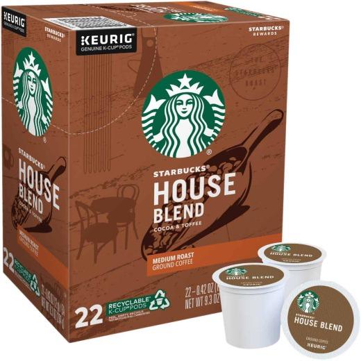 Keurig Starbucks House Blend K-Cup (22-Pack)