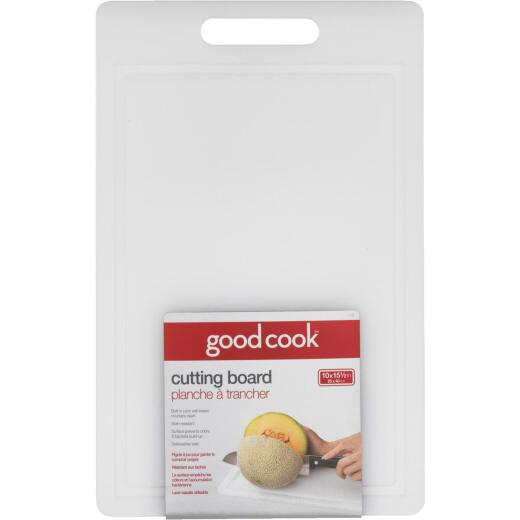 GoodCook 10 In. x 15.5 In. Poly Cutting Board