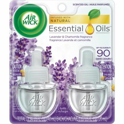 Air Wick Lavender & Chamomile Scented Oil Refill (2-Pack)