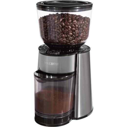 Mr. Coffee Electric Large Stainless Steel Coffee and Spice Grinder