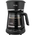 Mr Coffee 12 Cup Coffee Maker in Black and Chrome Image 1