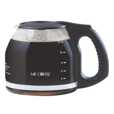 Mr. Coffee 12 Cup Replacement Black Coffee Decanter