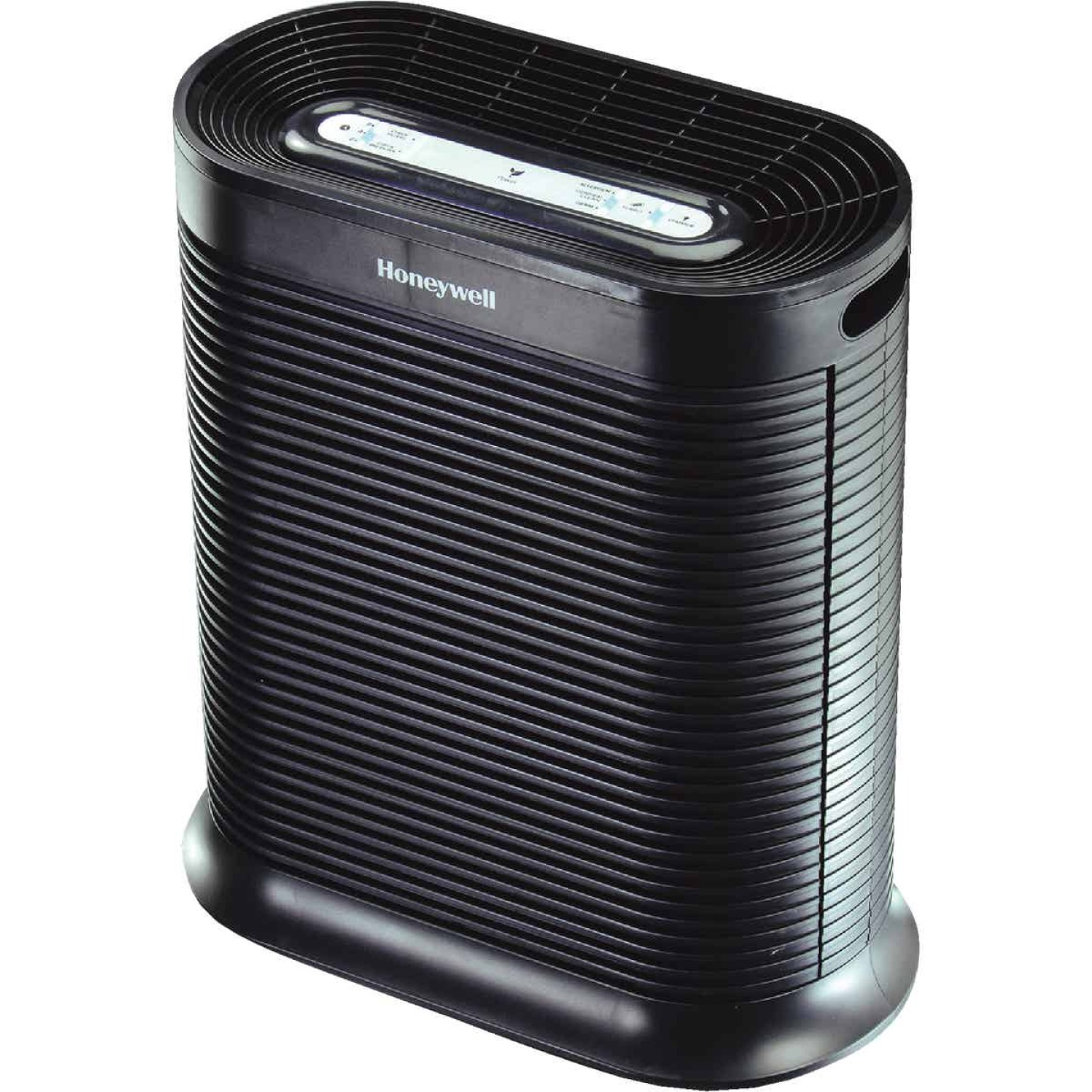 Honeywell True HEPA 456 Sq. Ft. Black Tabletop Large Room Air Purifier Image 1