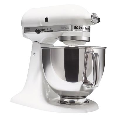 KitchenAid Artisan Series 10-Speed White Stand Mixer
