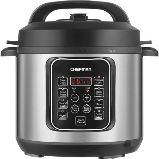 Chefman 6 Qt. Electric Programmable Multi-Cooker