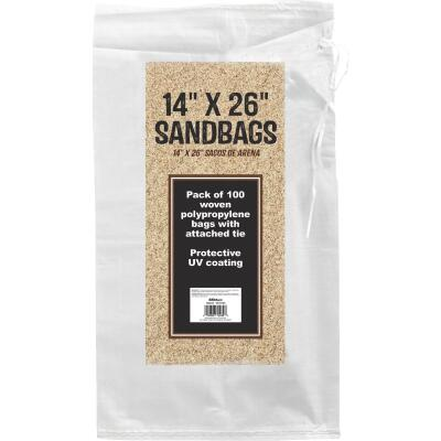 14 In. x 26 In. Empty Sandbags (100-Pack)