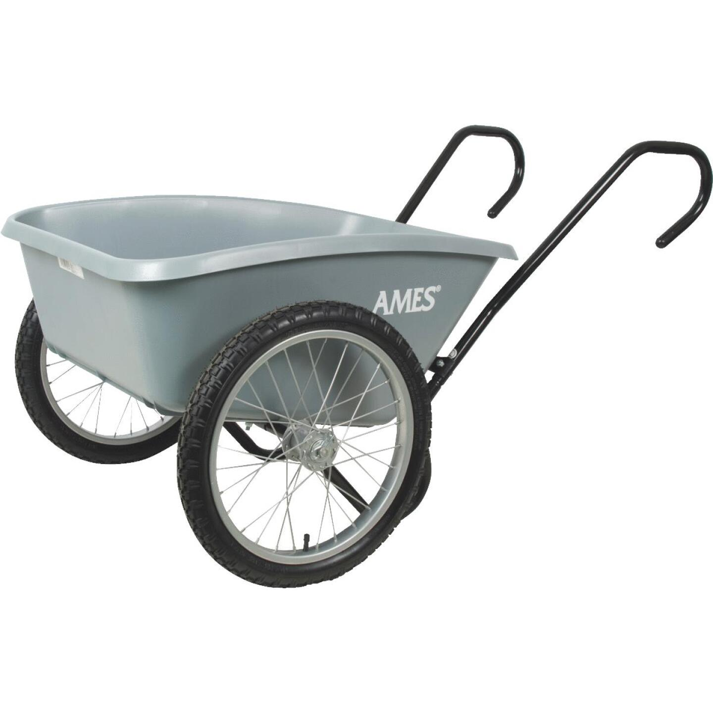 Ames 5 Cu. Ft. Poly Garden Cart Image 1