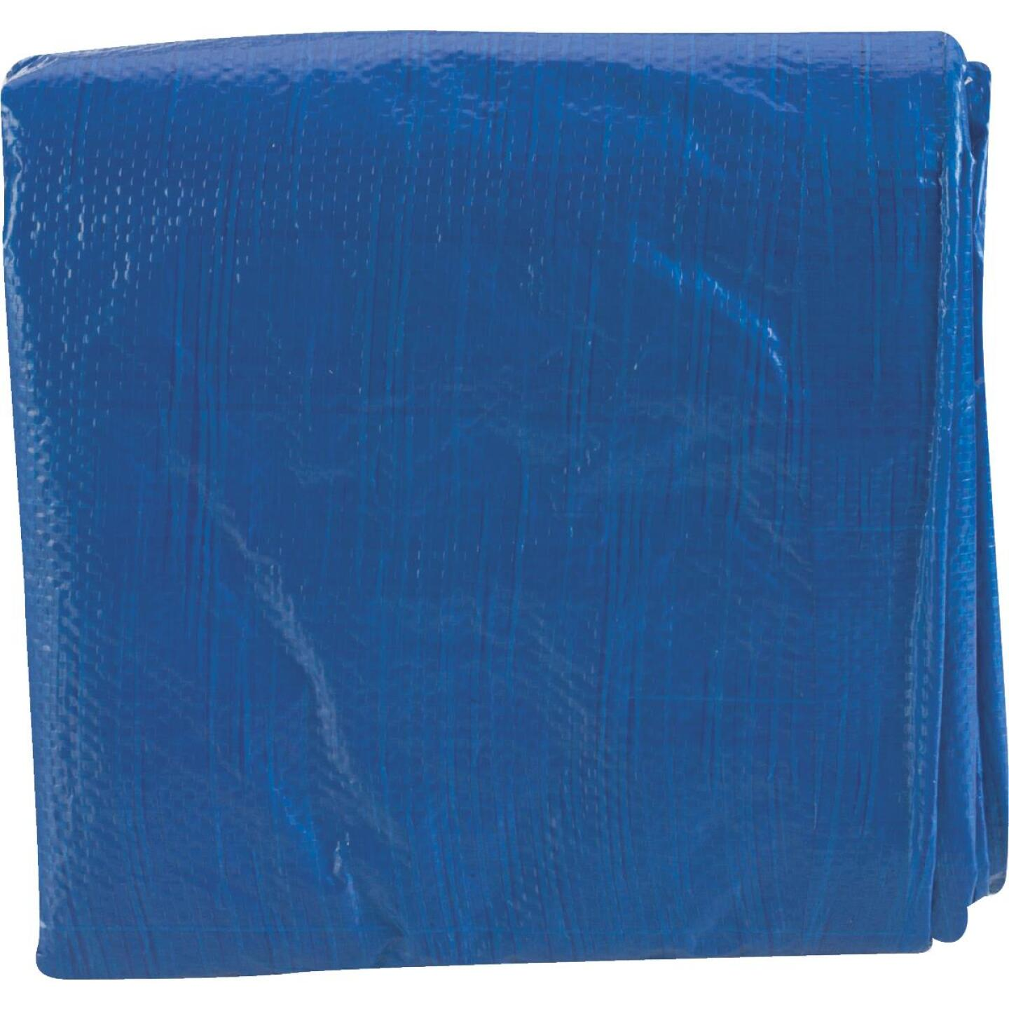 Do it Blue Woven 8 Ft. x 10 Ft. Medium Duty Poly Tarp Image 2