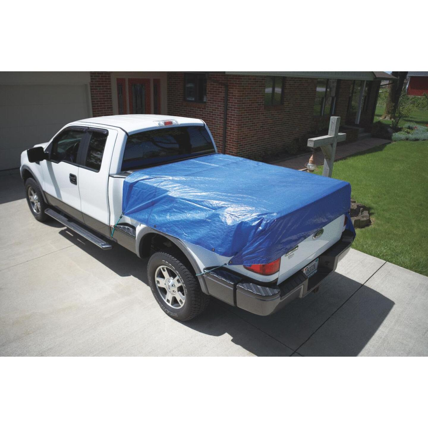 Do it Blue Woven 8 Ft. x 10 Ft. Medium Duty Poly Tarp Image 4