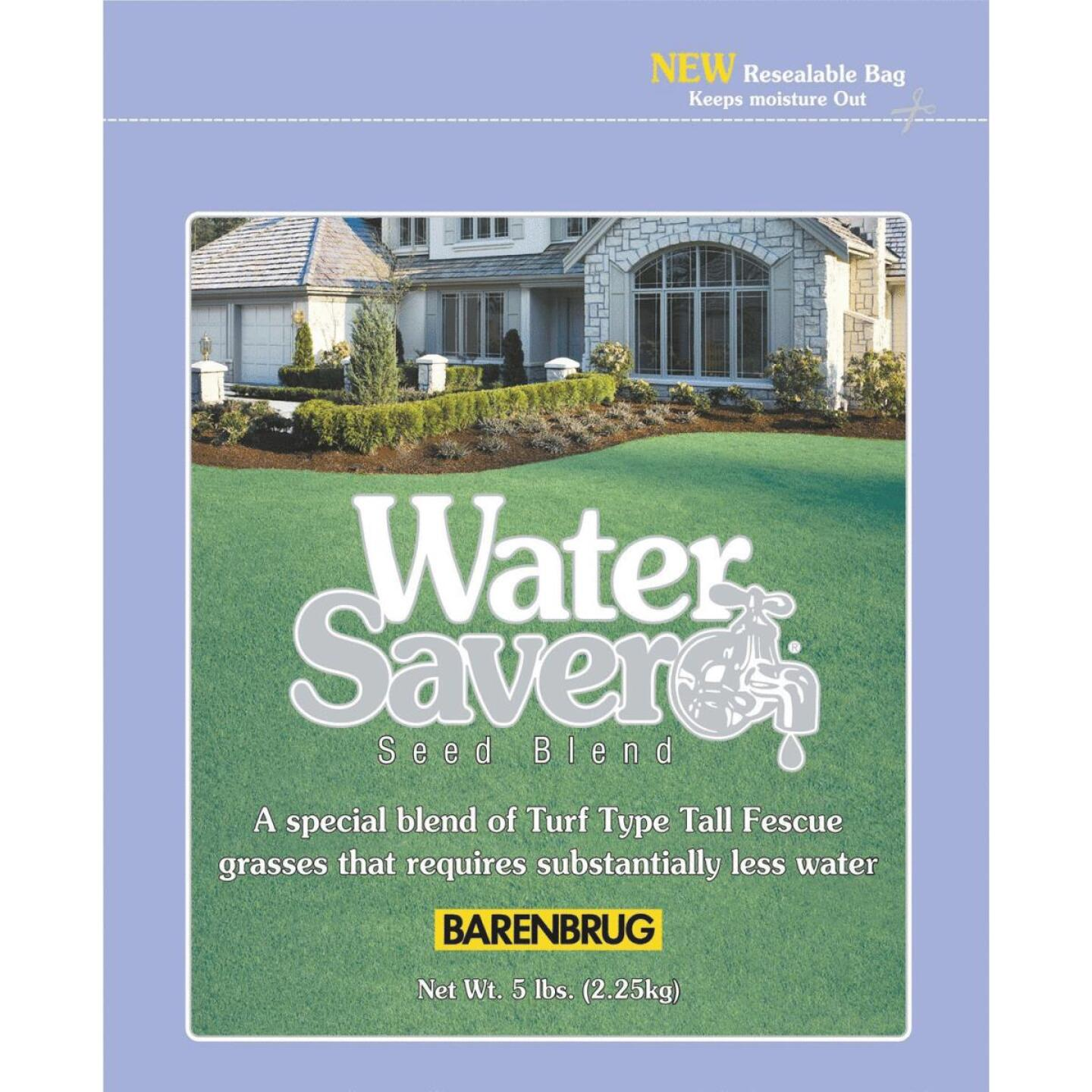 Water Saver 10 Lb. 1000 Sq. Ft. Coverage Tall Fescue Grass Seed Image 1