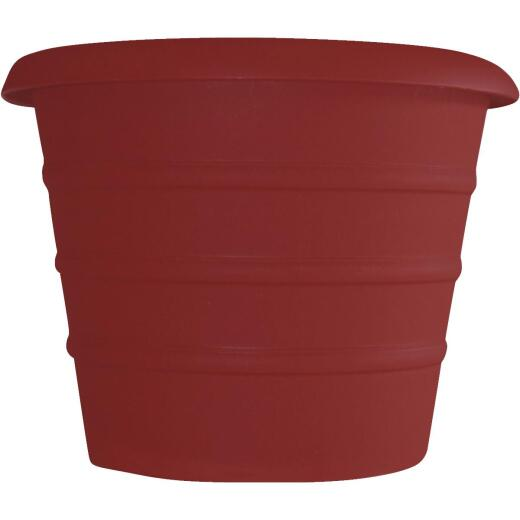Myers Marina 8 In. Dia. Red Poly Flower Pot