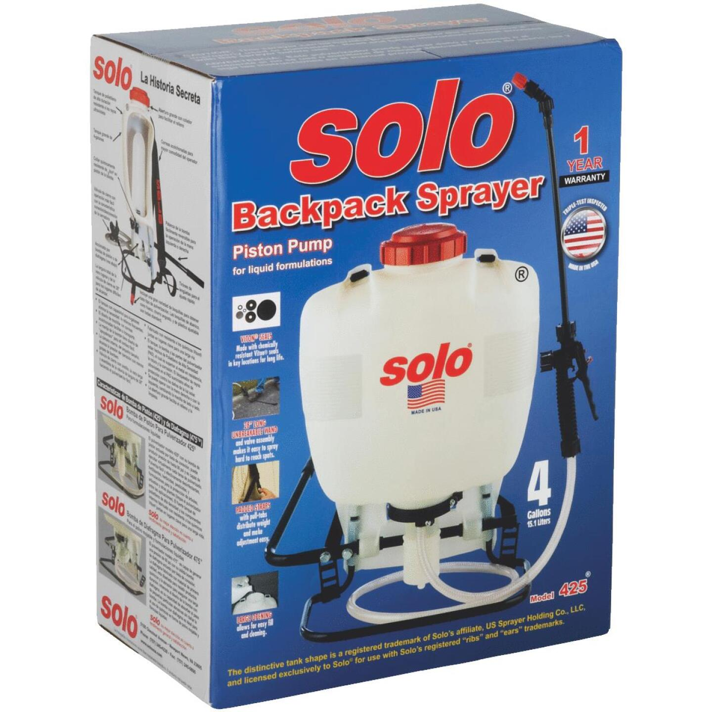 Solo 425 4 Gal. Backpack Sprayer Image 2
