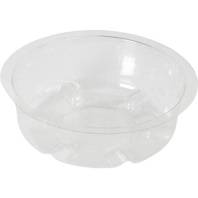Best Garden 4 In. Clear Vinyl Flower Pot Saucer
