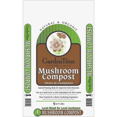 Garden Time 1 Cu. Ft. Mushroom Compost