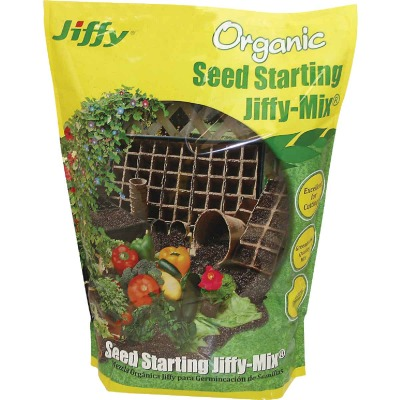 Jiffy 16 Qt. 8 Lb. All Purpose Container Organic Seed Starting Mix