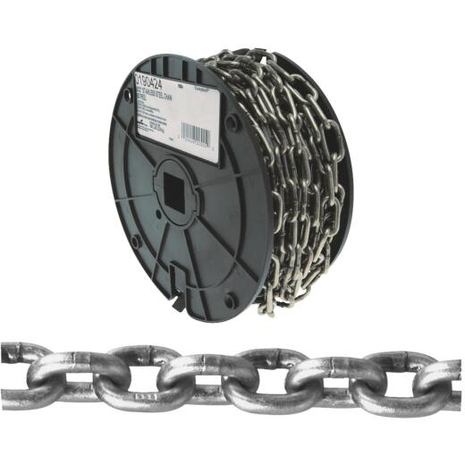 Campbell 5/32 In. 50 Ft. Bright Stainless Steel Coil Chain