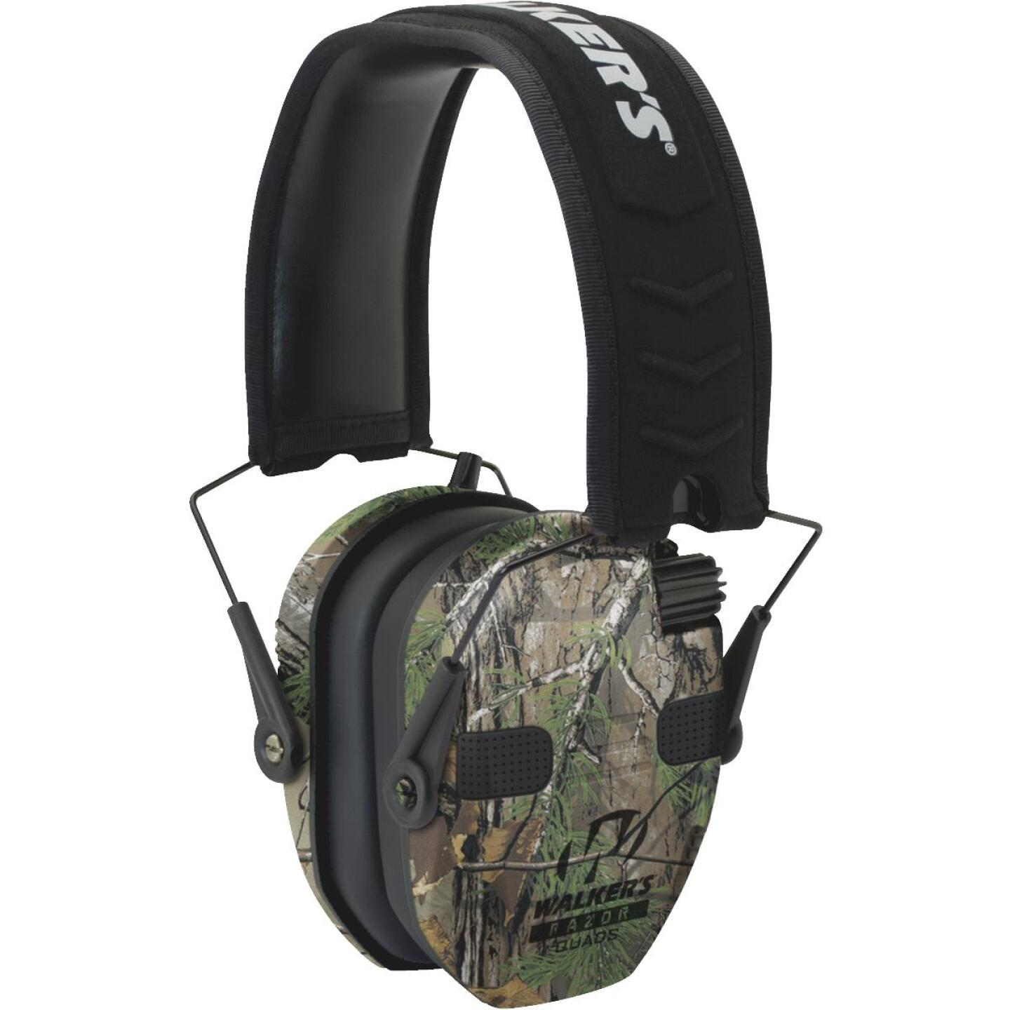 Walker's Razor Series Quad Realtree Xtra Electronic Earmuffs Image 1