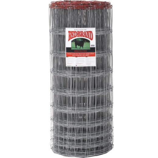 Keystone Red Brand Square Deal Knot 47 In. H. x 330 Ft. L. Galvanized Steel Field Fence