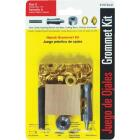 Lord & Hodge 1/4 In. Brass Grommet Kit Image 1