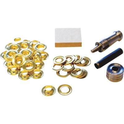 Lord & Hodge 3/8 In. Brass Grommet Kit