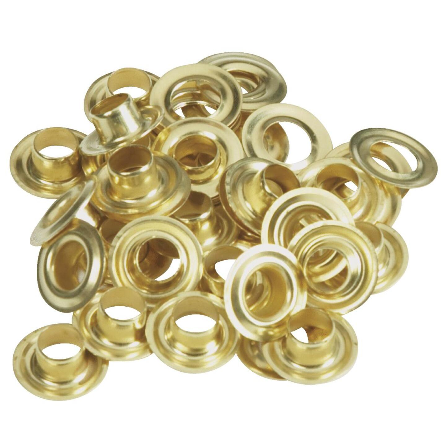 Lord & Hodge 1/4 In. Brass Grommet Refills (24 Ct.) Image 1