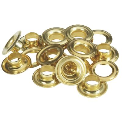 Lord & Hodge 7/16 In. Brass Grommet Refills (12 Ct.)