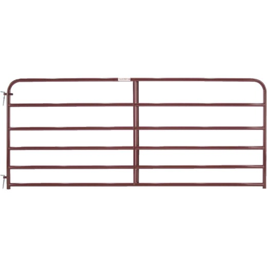Tarter 50 In. H. x 10 Ft. L. x 1-3/4 In. Tube Diameter Red Economy Tube Gate
