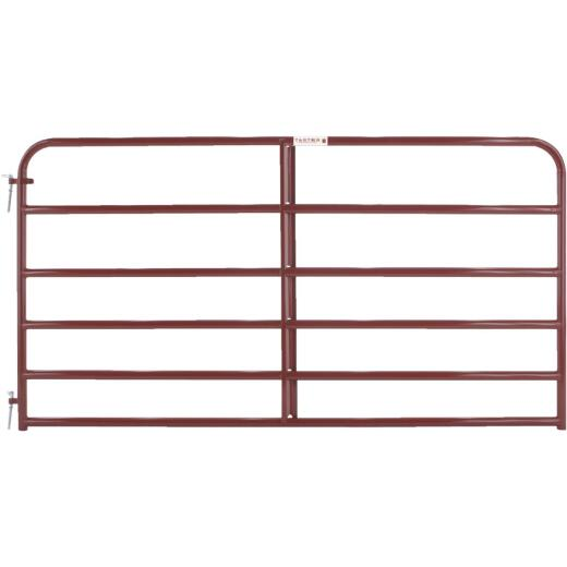 Tarter 50 In. H. x 8 Ft. L. x 1-3/4 In. Tube Diameter Red Economy Tube Gate