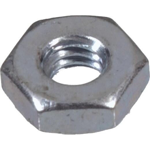 Hillman #8 32 tpi Low-Carbon Steel Hex Machine Screw Nut (24 Ct.)
