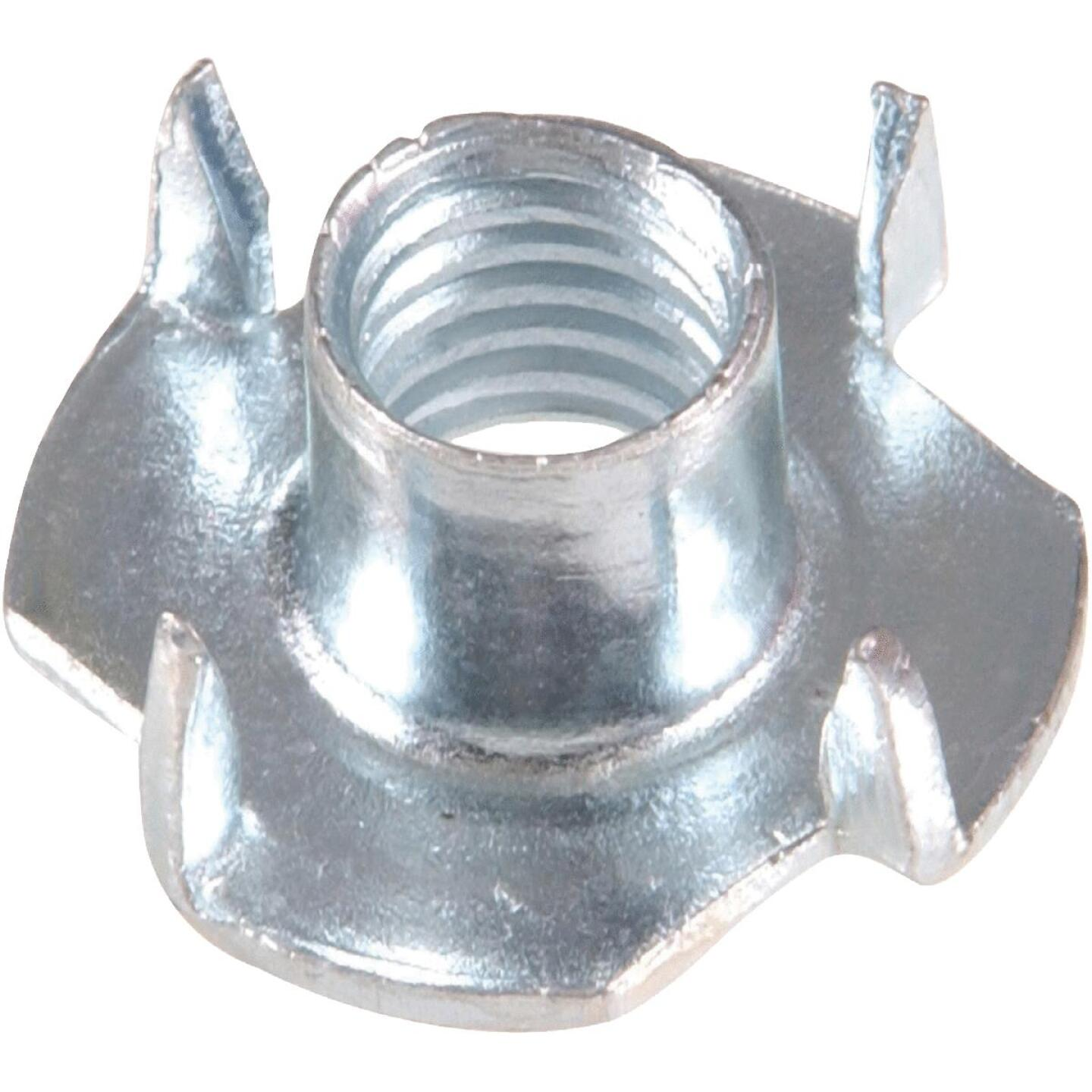 Hillman 1/4 In. 20 tpi Pronged Tee Nuts (4 Ct.) Image 1