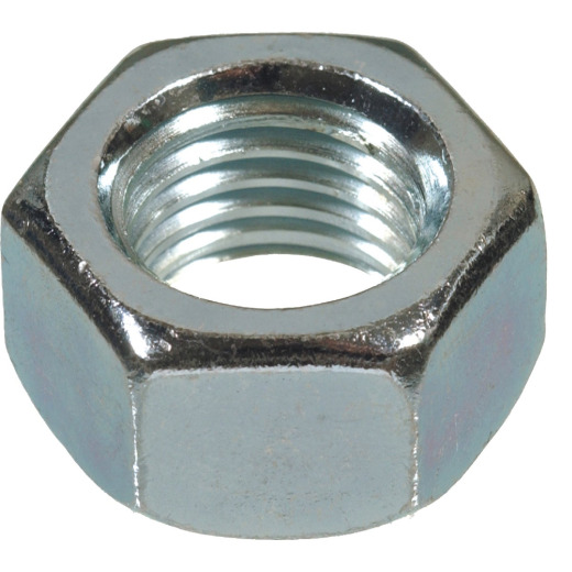 Hillman 3/8 In. 16 tpi Low-Carbon Steel Hex Machine Screw Nut (8 Ct.)